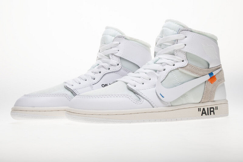 OWF Batch Sneaker & Jordan 1 Retro High Off-White White AQ0818-100