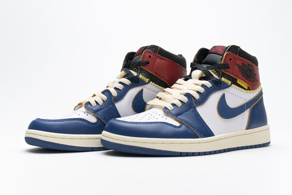 OWF Batch Sneaker & Jordan 1 Retro High Union Los Angeles Blue Toe BV1300-146