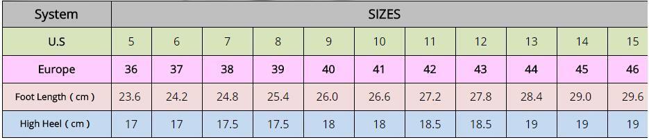Multi Color Patent Leather Sexy 18cm Heels Women Sandals