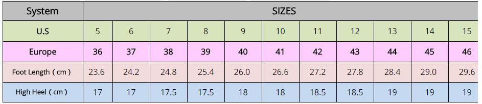 Pink Shiny PU Pumps 18cm Ladies High Heels Pump Shoes