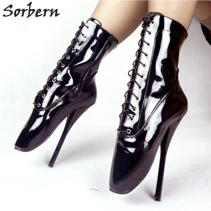 official photos reliable quality another chance New Sexy High Heels Unisex Ballet Shoes Tea High Boots