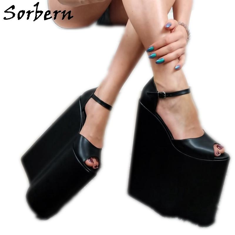 Sorbern 30Cm High Heel Wedges Sandal