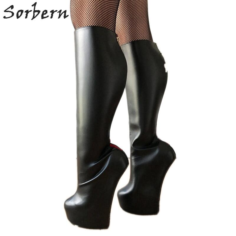 Sorbern Made-To-Order Thigh High Boots Women With Belt Pointed Toe High Heels Custom Slim Fit Long Unisex Boot Stilettos