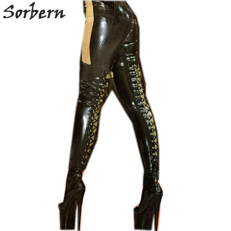 Sorbern Sexy 90cm Long Women Boots Thick Hard Shaft Pointed Toe Platform Boots Crotch Thigh High Lady Custom Wide Or Slim Fit