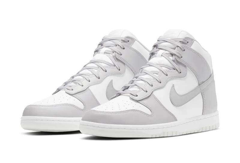 Dunk High white and gray color matching for the first time!