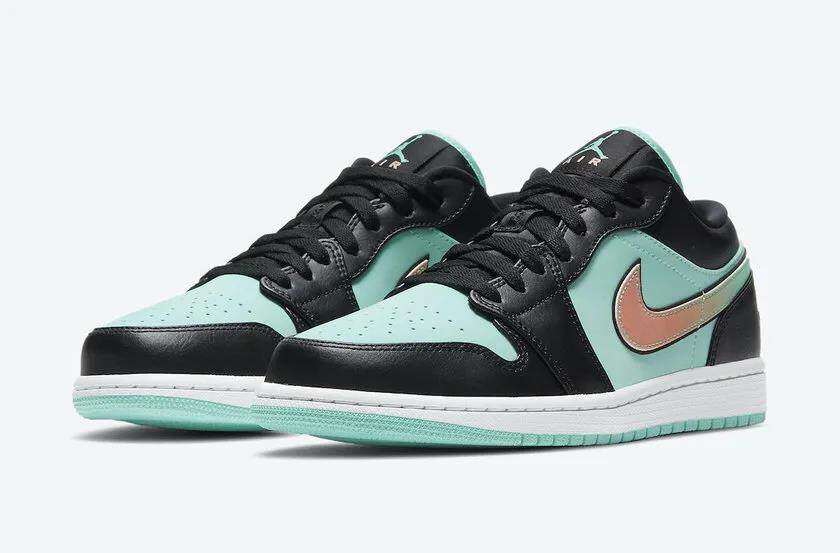 Song Sneaker shares AJ 1 low with Tiffany blue accent