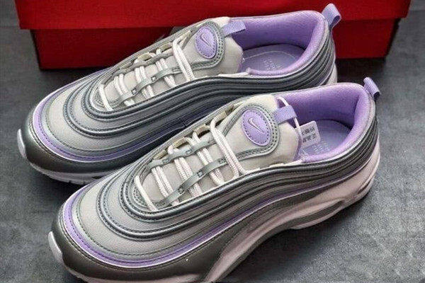PK God AirMax97 silver and purple color details evaluation