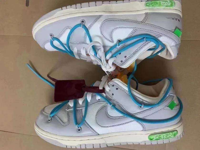 "Og Tony Shared The Actual Photos Of Off-White x Nike Dunk Low ""02 of 50""!"