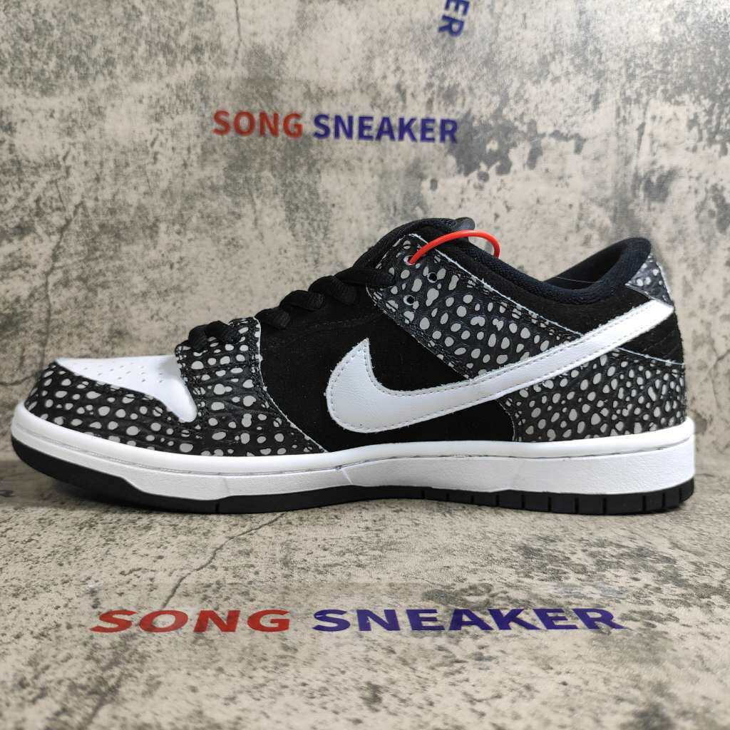 Nike SB Dunk Low Pro ISO Black White