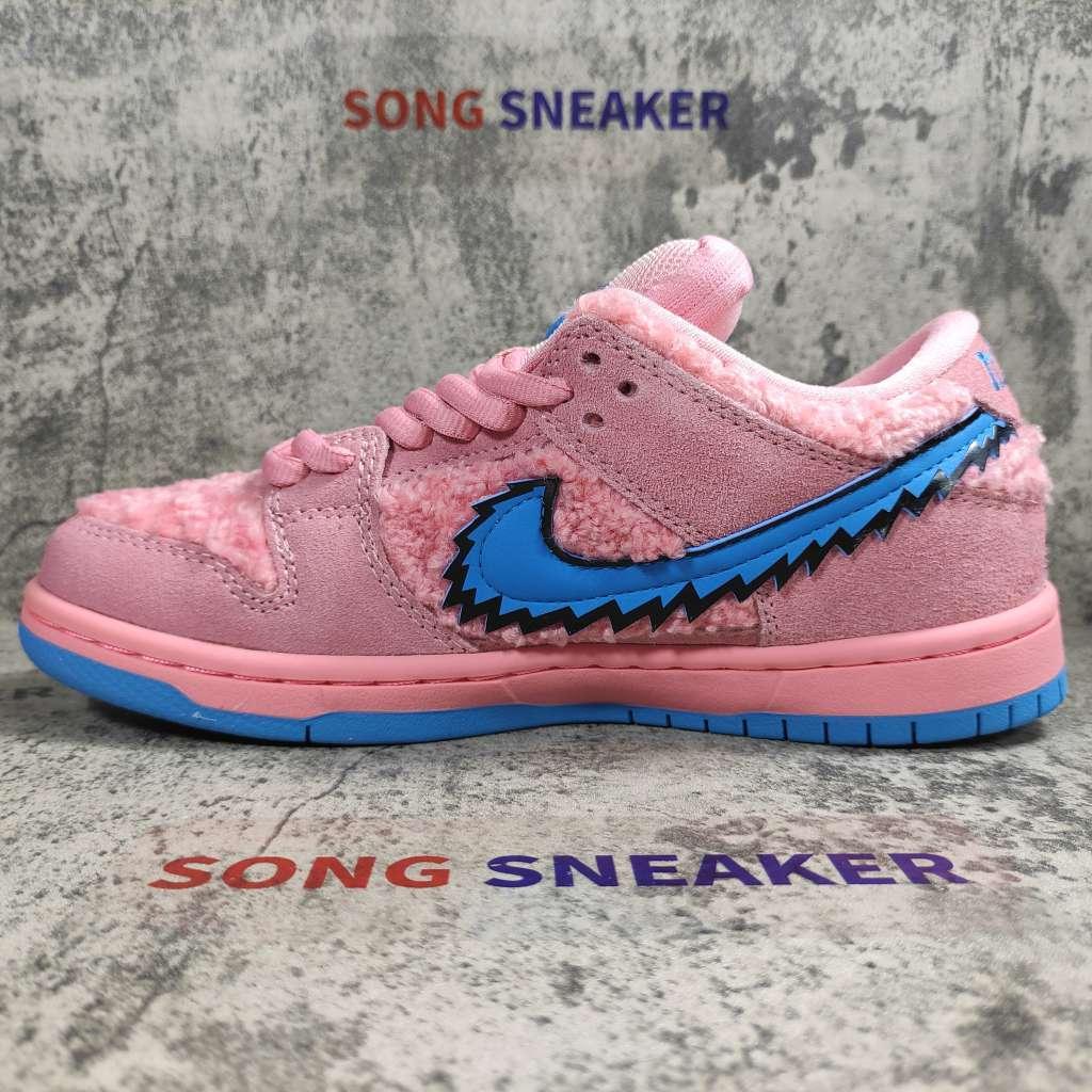 Nike SB Dunk Low Grateful Dead Bears Pink