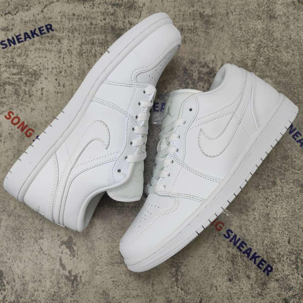 Air Jordan 1 Low White Pure Platnium