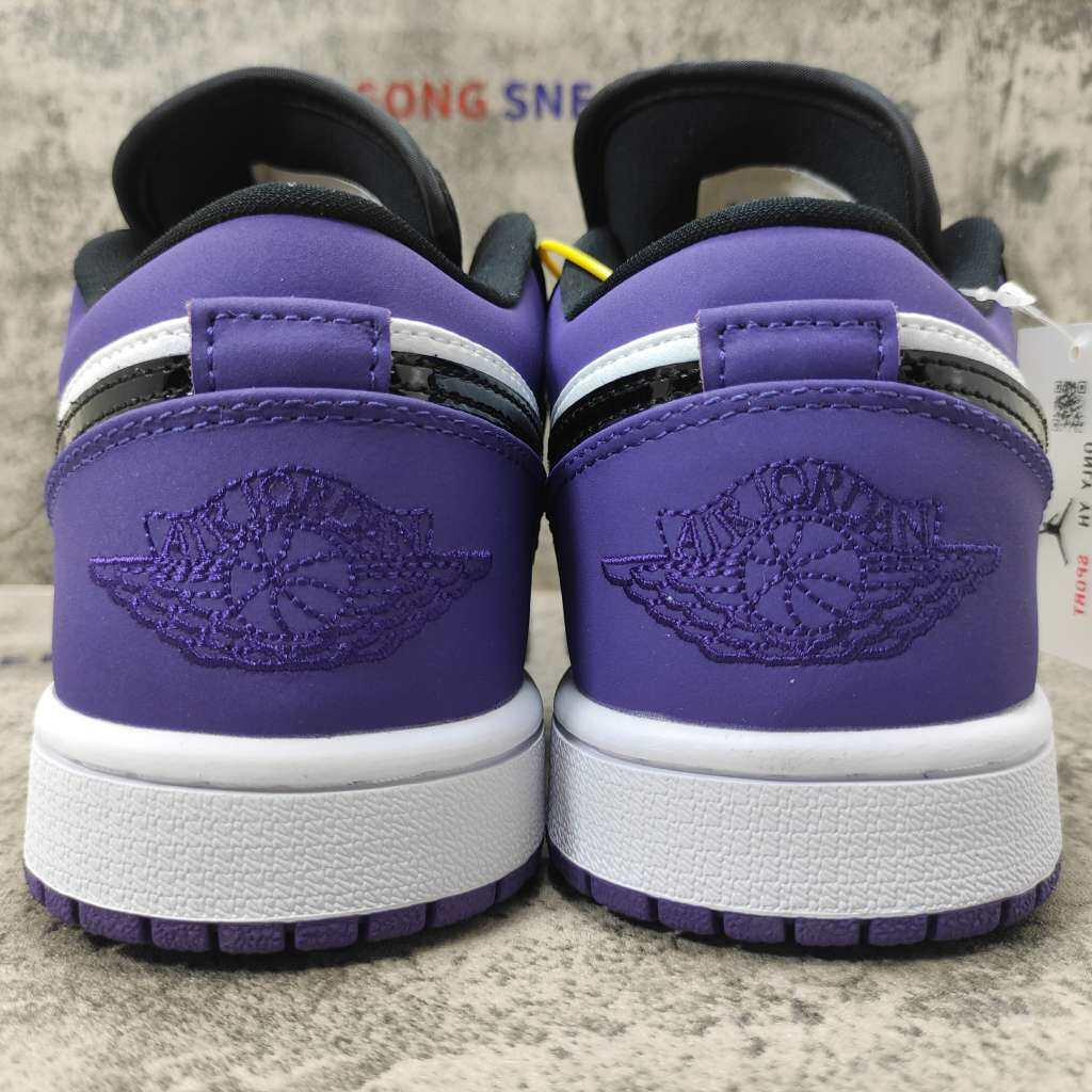 Jordan 1 Low Court Purple