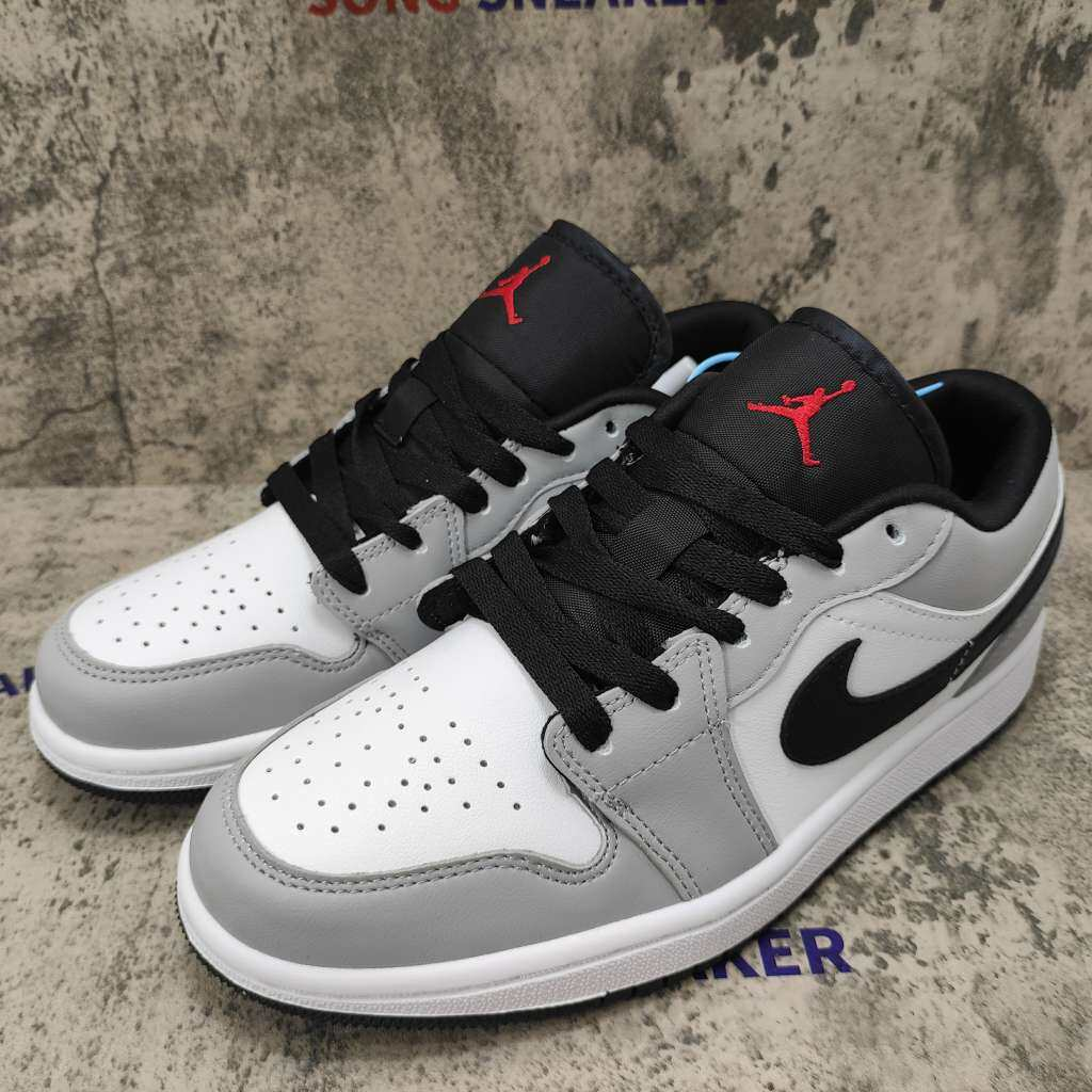 Air Jordan 1 Low Light Smoke Grey