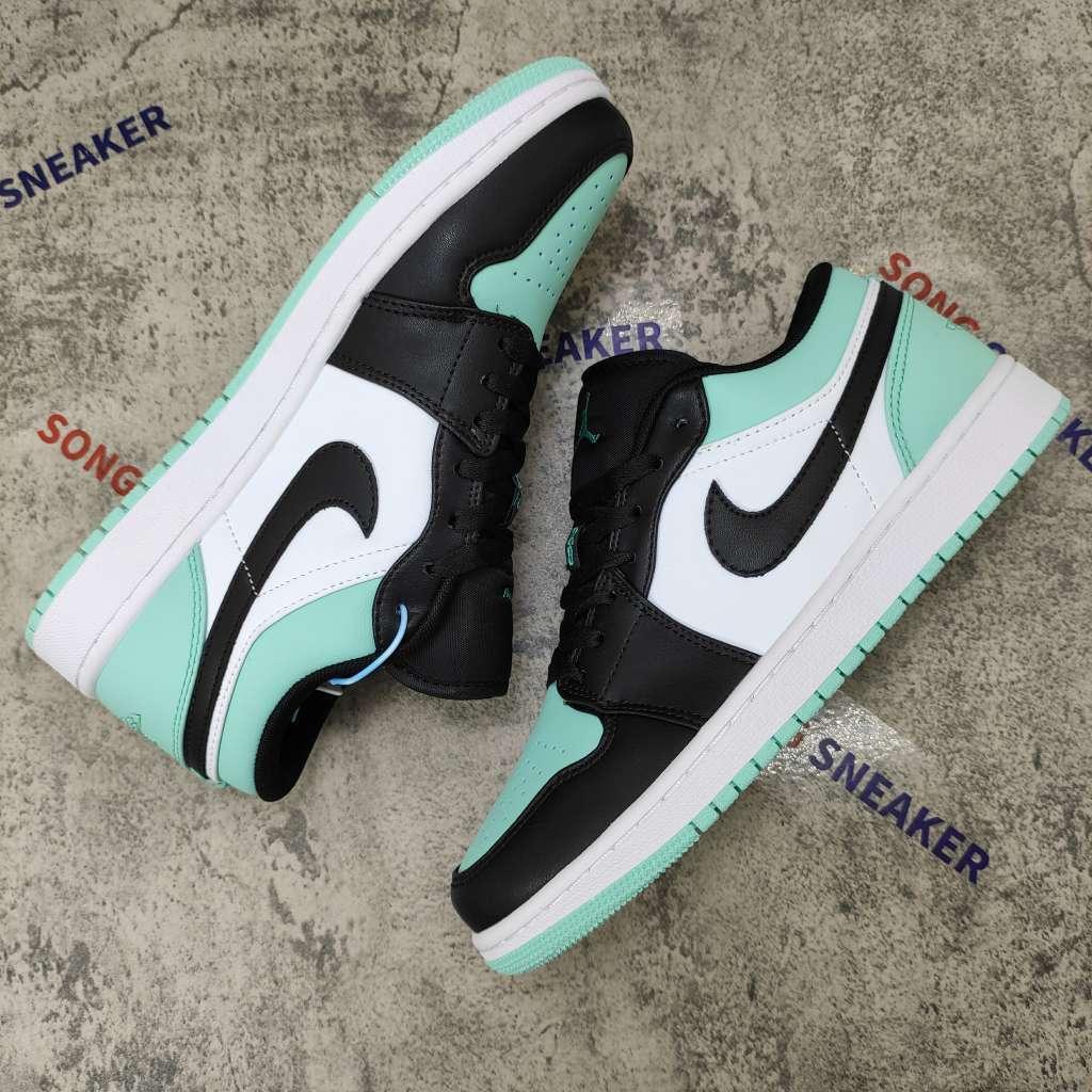 Air Jordan 1 Low Emerald Toe