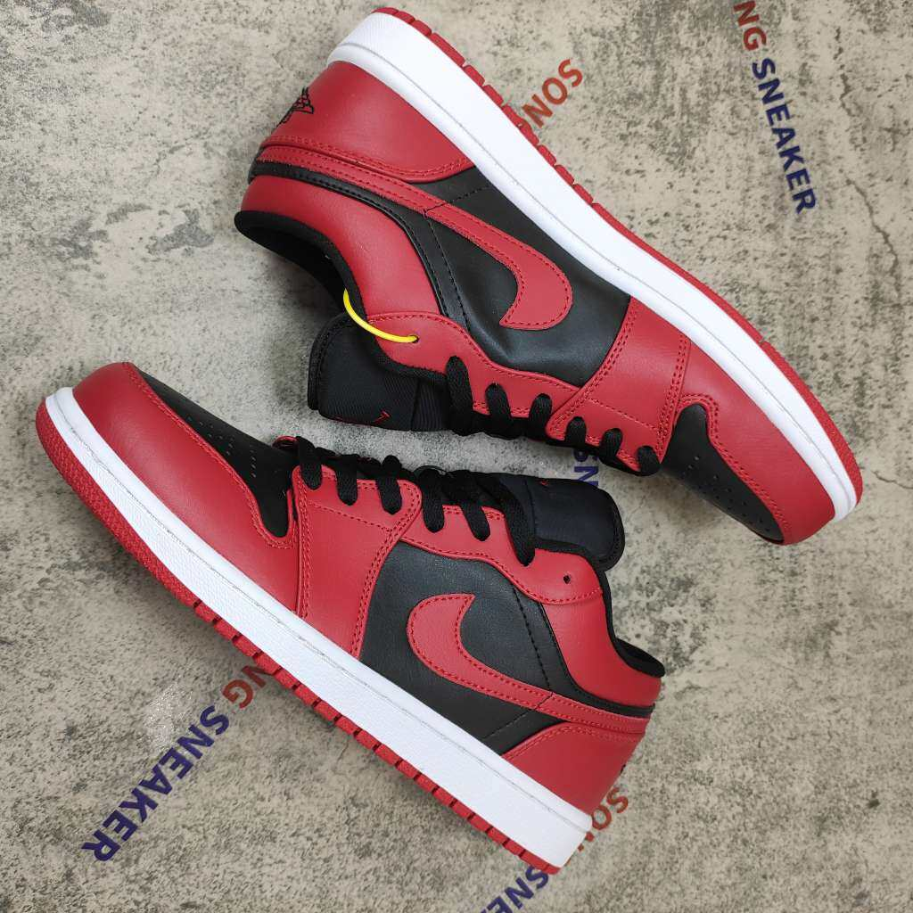 Air Jordan 1 Low Reverse Bred 553558-606