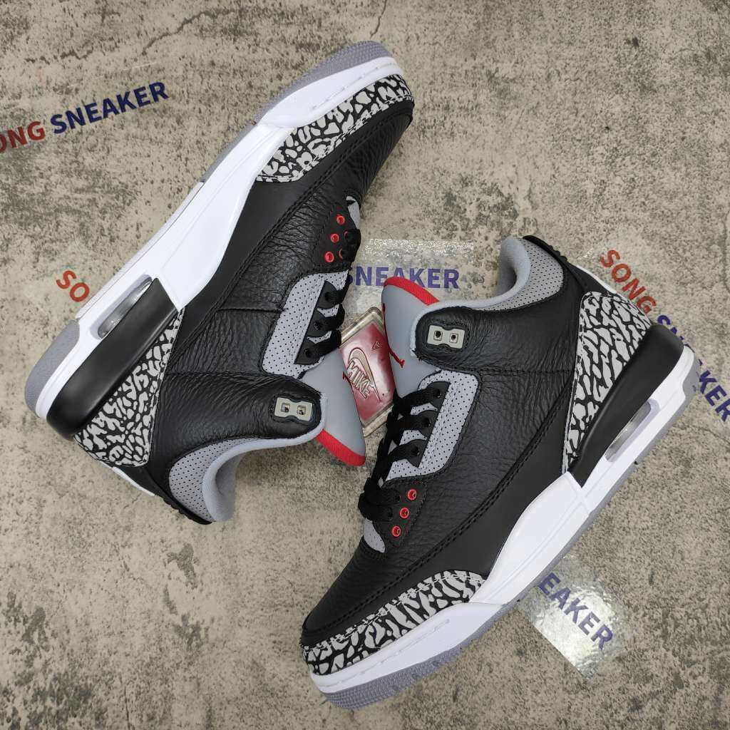 Air Jordan 3 Retro Black Cement (2018)