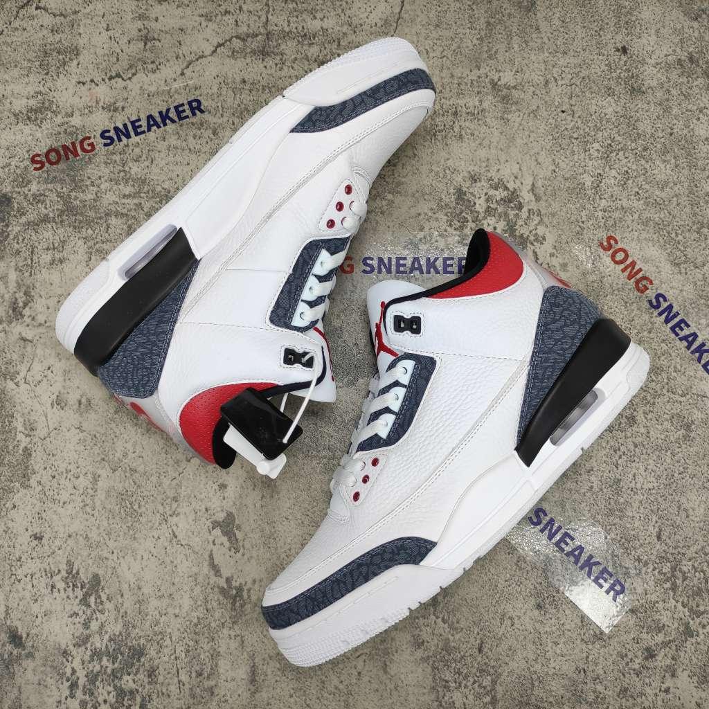 Air Jordan 3 Retro SE Fire Red Denim (2020)