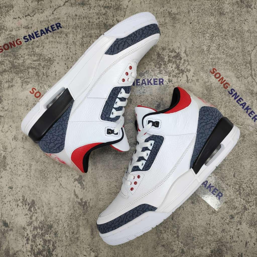 Air Jordan 3 Retro SE-T CO JP Fire Red Denim