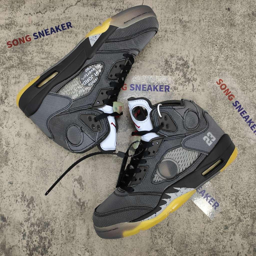 Air Jordan 5 Retro Off-White Black