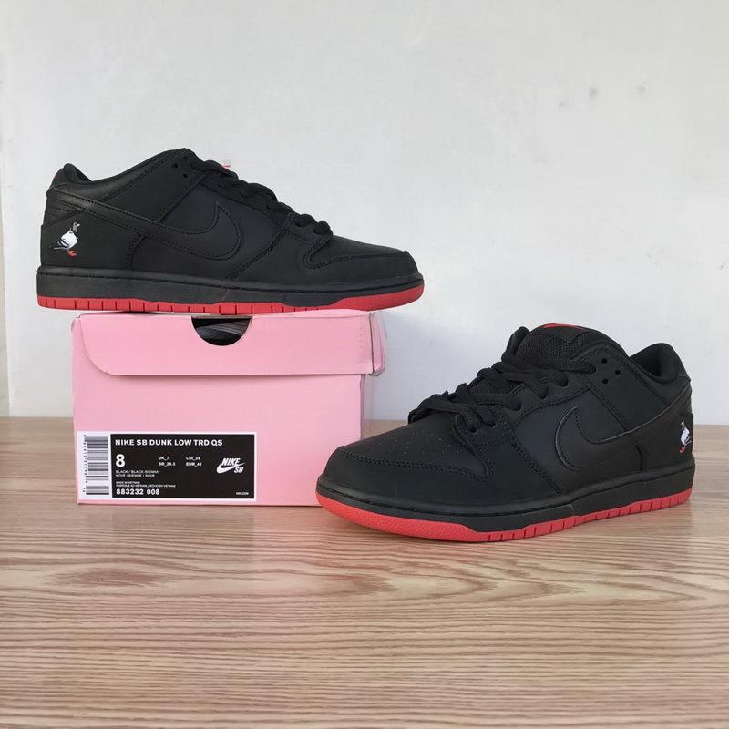 Nike SB Dunk Low Black Pigeon 883232-008