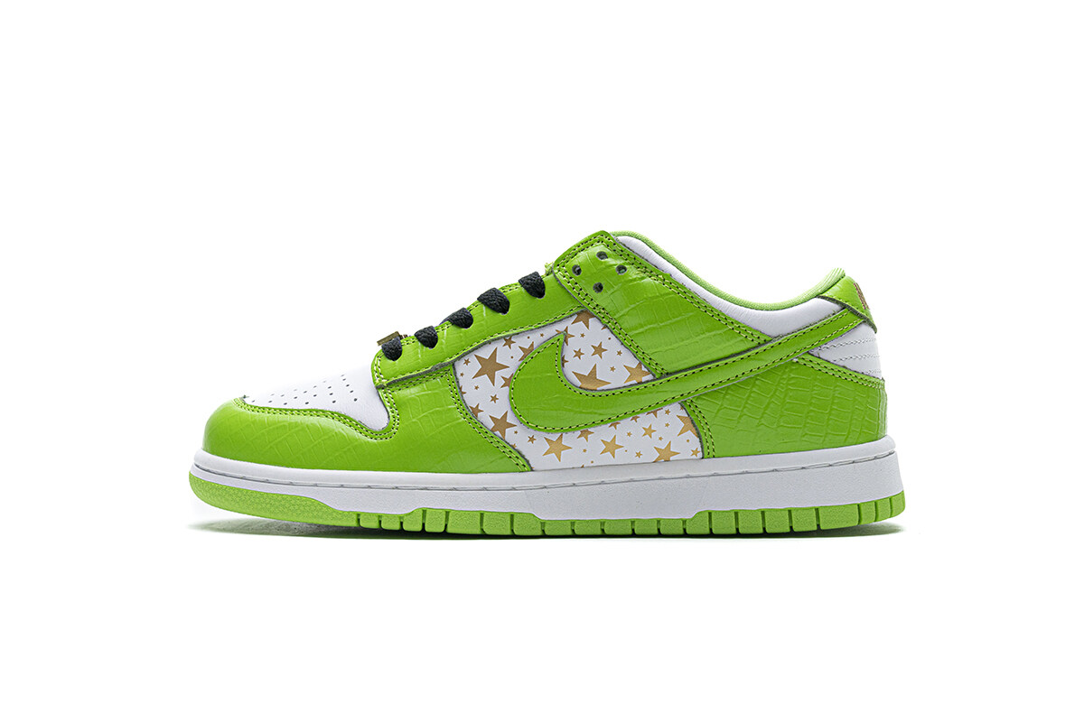 Nike SB Dunk Low Supreme Gree
