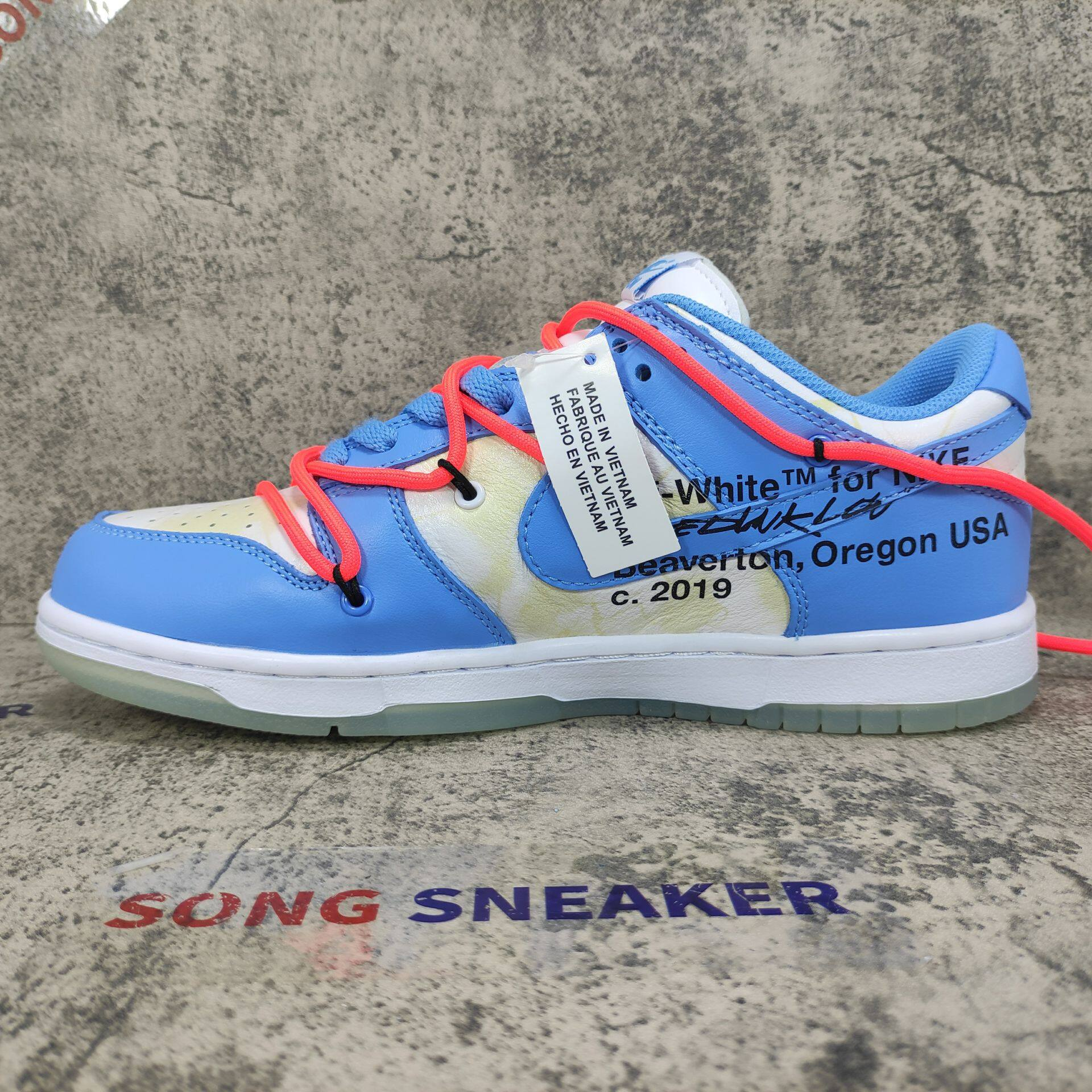 Nike SB Dunk Low UNC x OFF White x Futura