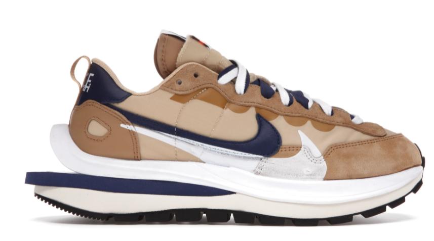 Nike VaporWaffle Sesame and Blue Void Sacai