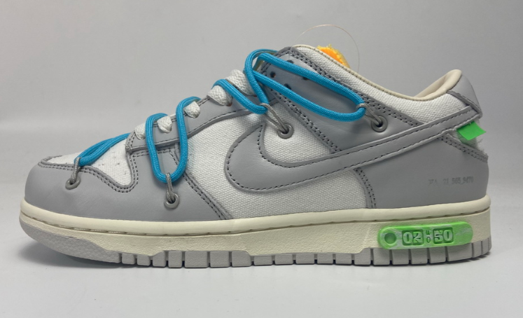 OFF WHITE x Nike Dunk SB Low The 50 NO.2