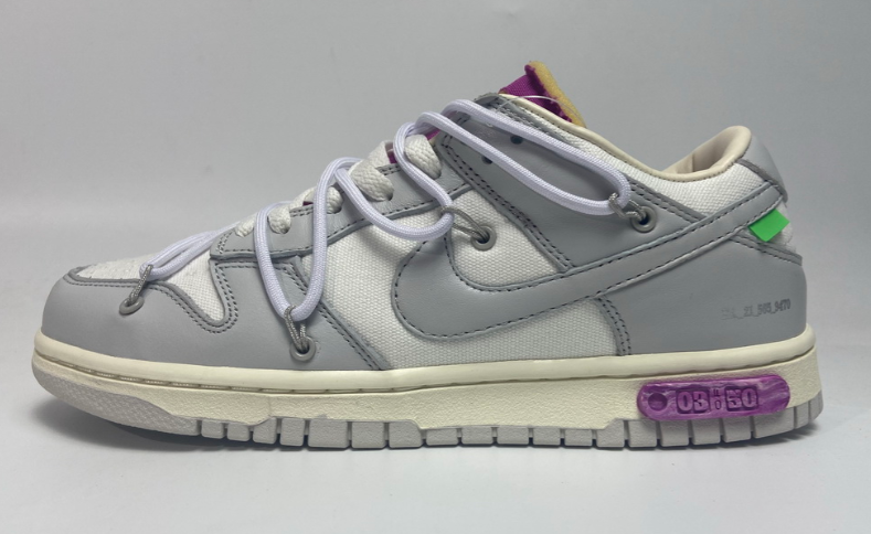 OFF WHITE x Nike Dunk SB Low The 50 NO.3