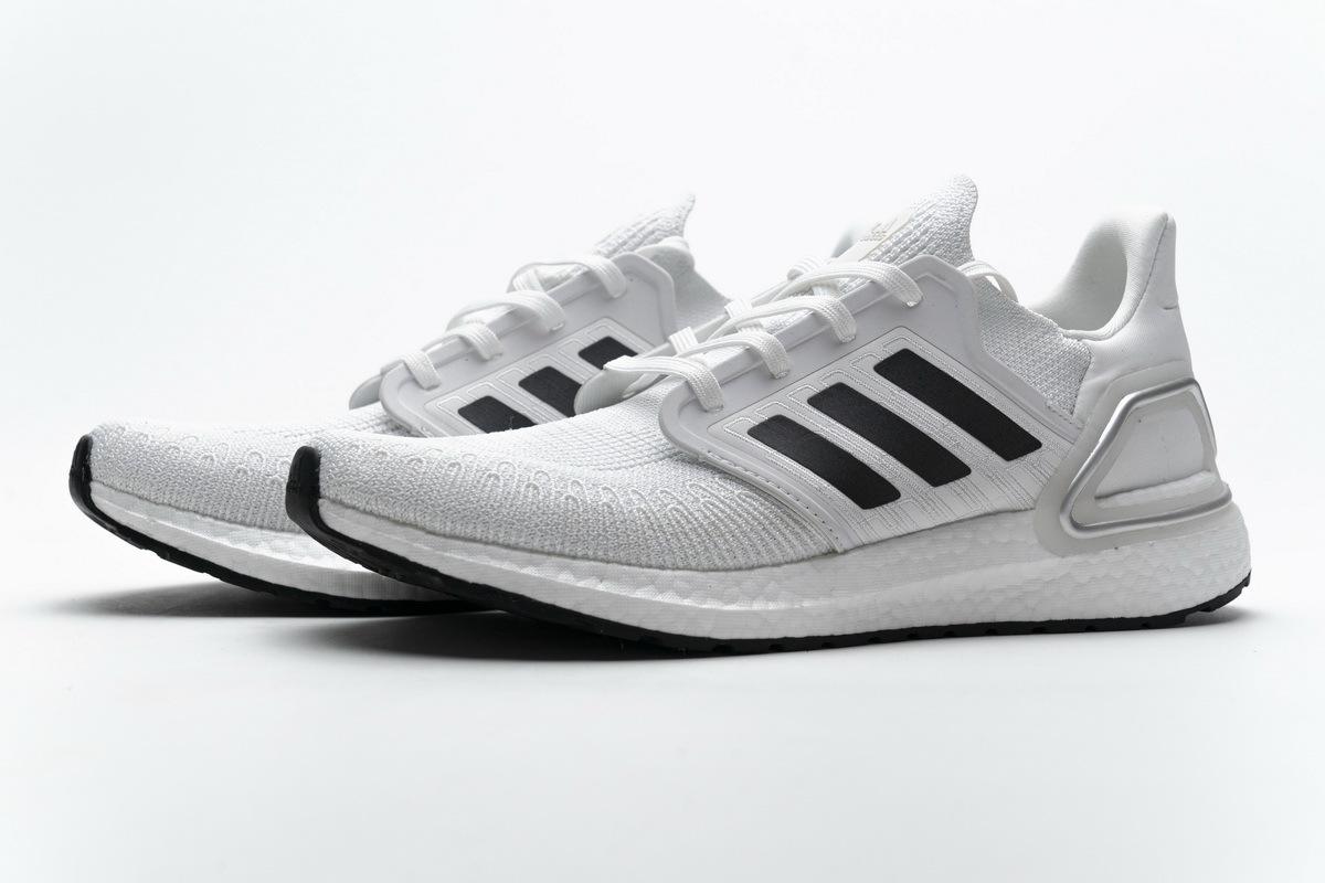 Adidas Ultra BOOST 20 CONSORTIUM White Silver Grey EG0783