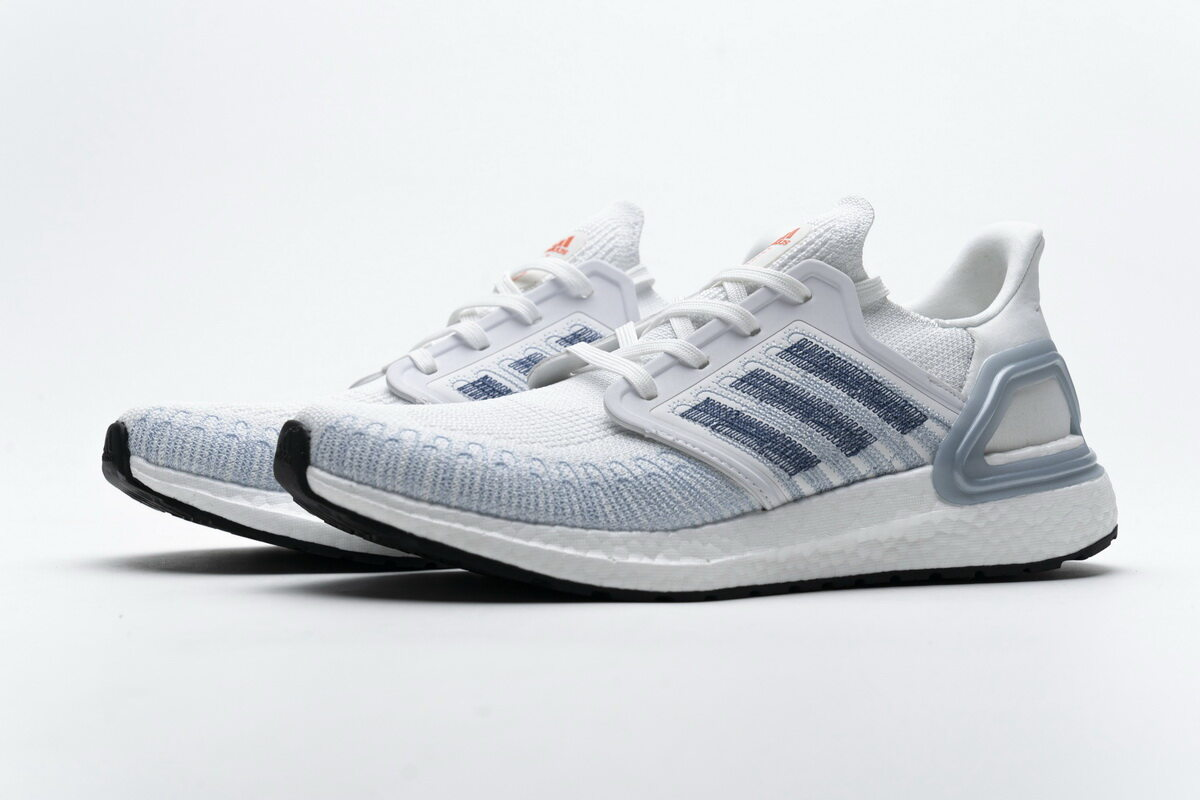 Adidas Ultra BOOST 20 White Light Blue FY3454