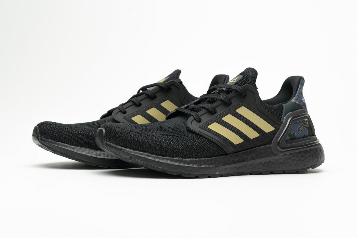 Adidas Ultra Boost 20 Chinese New Year Black Gold (2020) FW4322