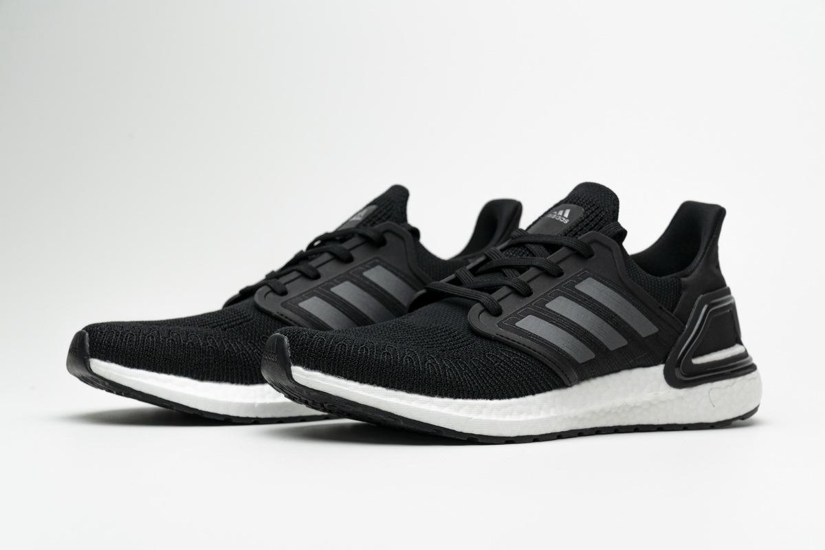 Adidas Ultra Boost 20 Core Black Night Metallic EF1043