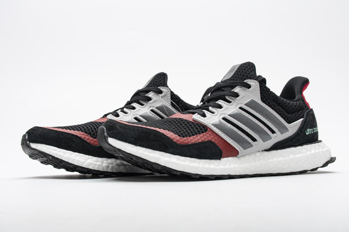 Adidas Ultra Boost S&L Black Grey Power Red EF0724