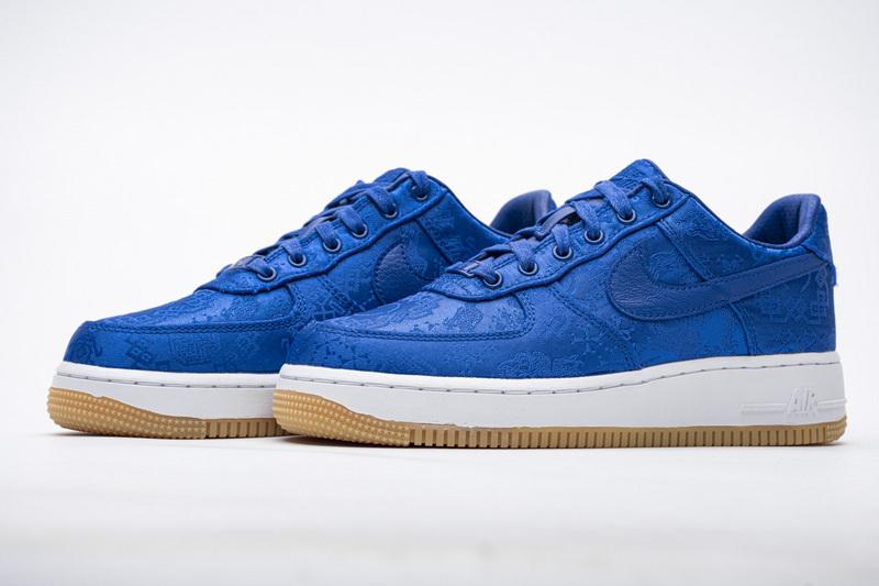 Nike Air Force 1 Low CLOT Blue Silk CJ5290-400