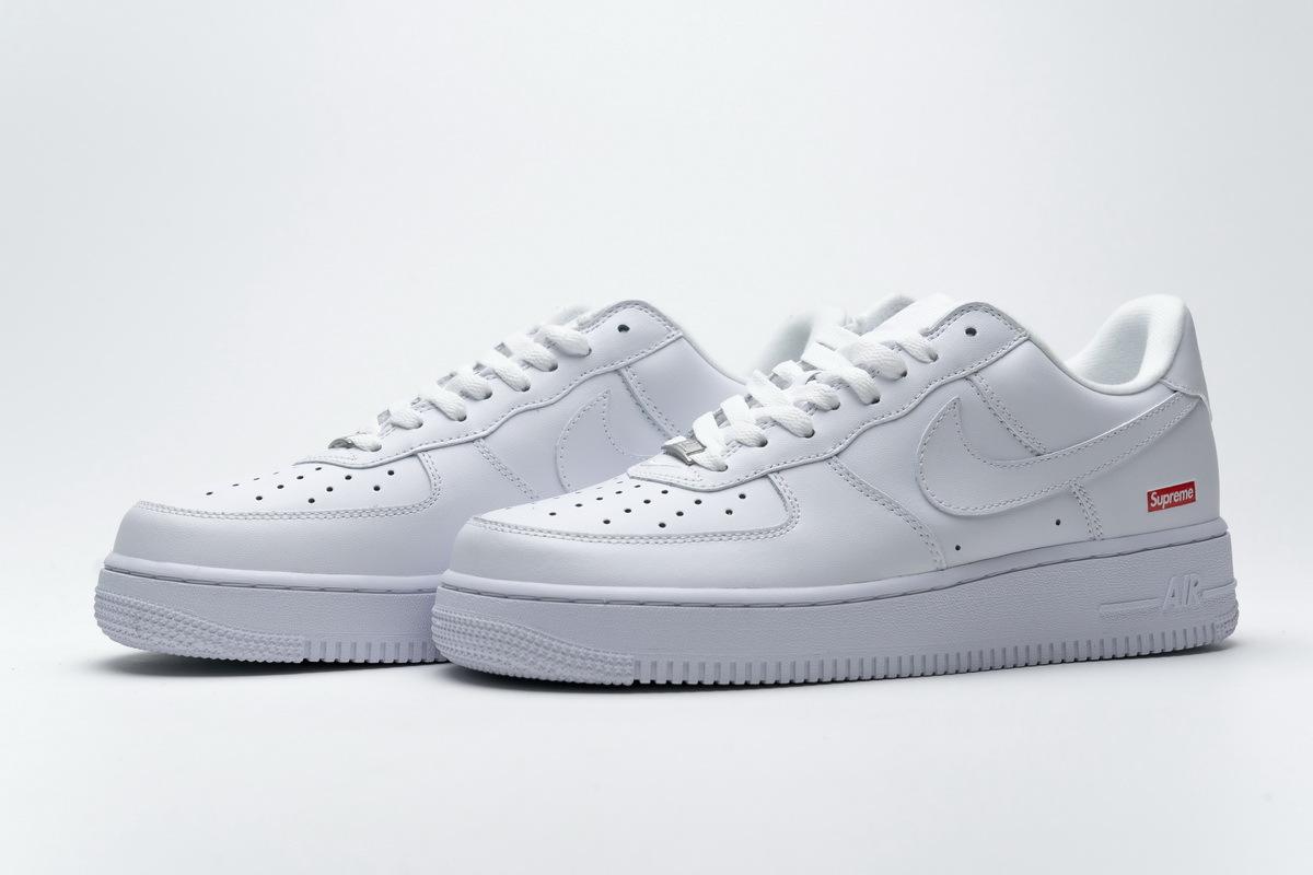 Nike Air Force 1 Low Supreme White CU9225-100