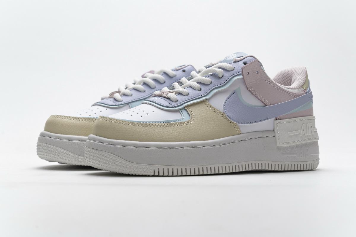 Nike Air Force 1 Shadow White Glacier Blue Ghost (W) CI0919-106