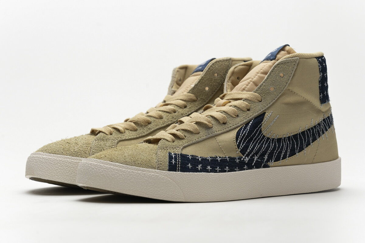 Nike SB Zoom Blazer Mid Sashiko Sesame CT0715-200