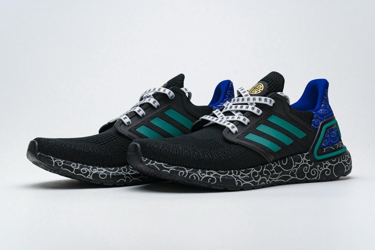 Adidas Ultra BOOST 20 Black Glory Green FX8887