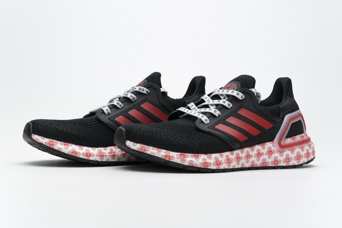 Adidas Ultra BOOST 20  Black Red  FX8886