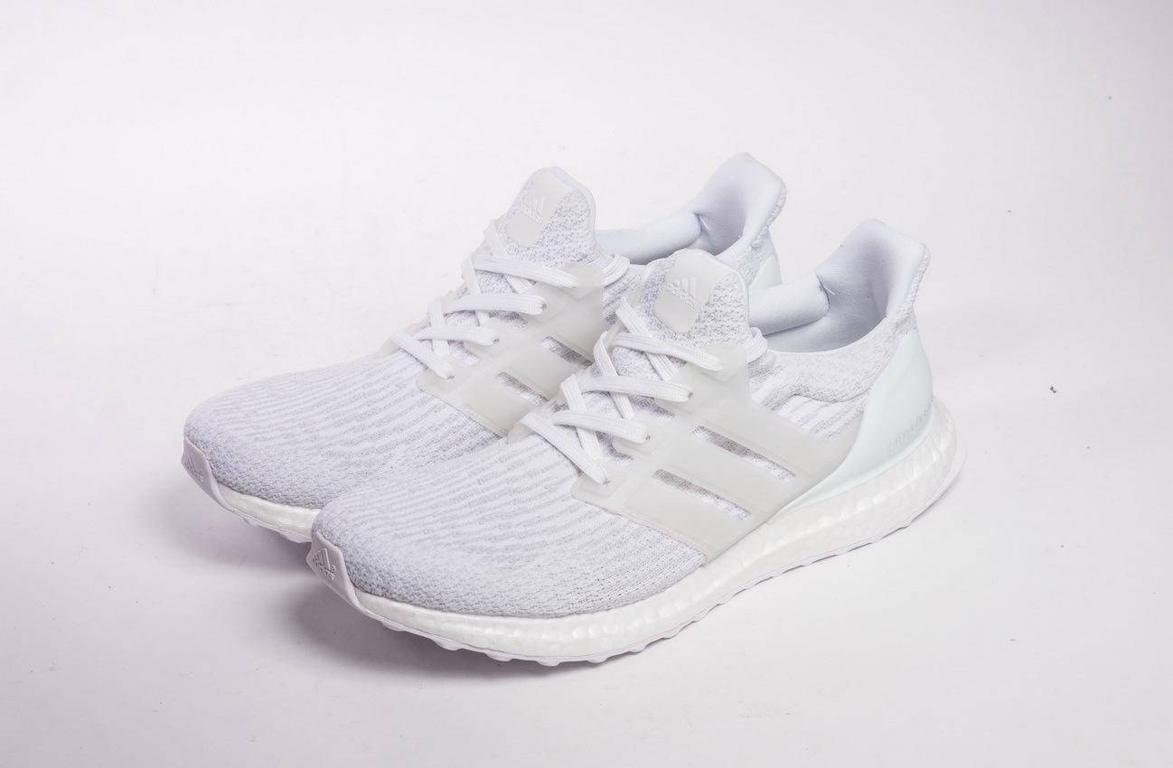 Adidas Ultra Boost 3.0 Triple White BA8841