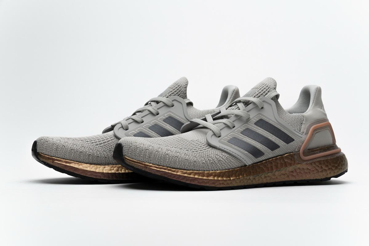 Adidas Ultraboost 20 Metal Grey FV4389