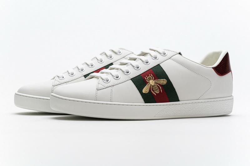 Gucci Women Little Bee Ace Sneaker 429446 A39G Q9085