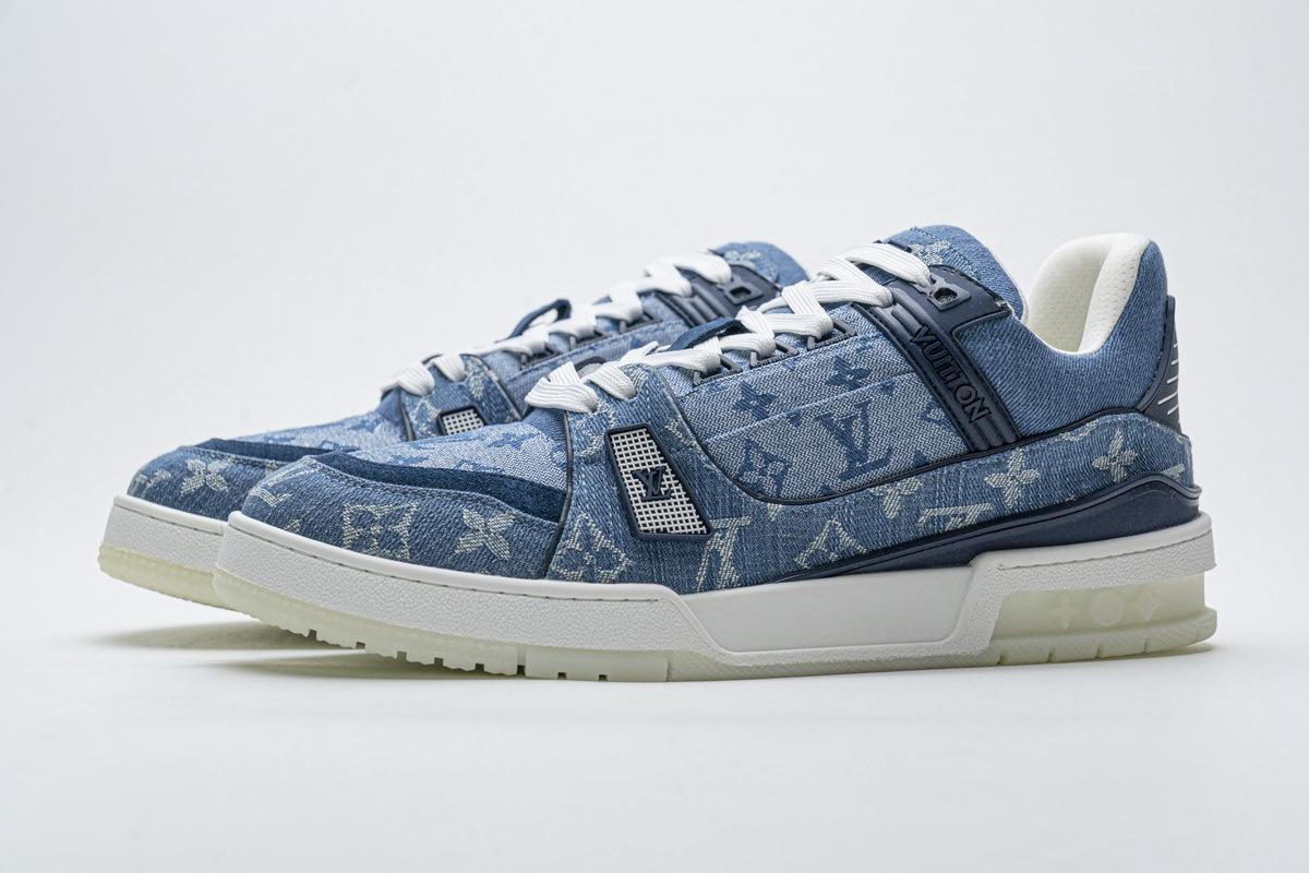 Louis Vuitton 20ss Trainer Blue Denim