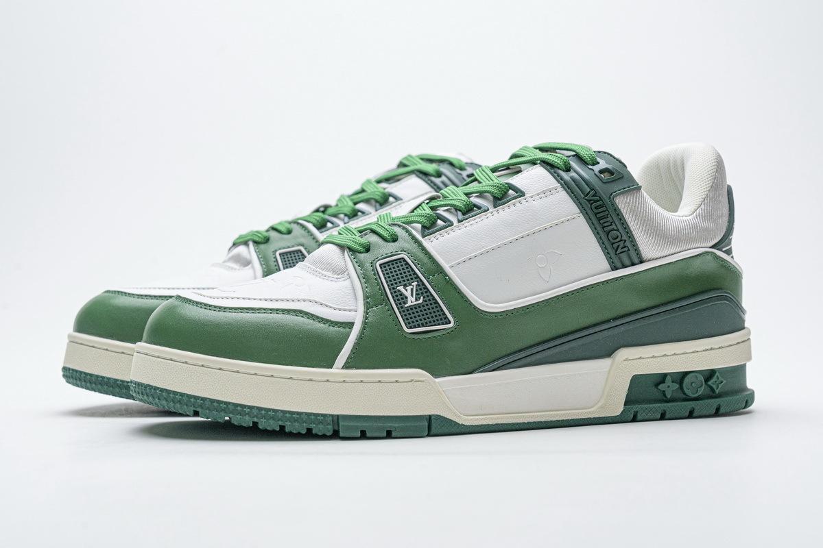 Louis Vuitton 20ss Trainer Green