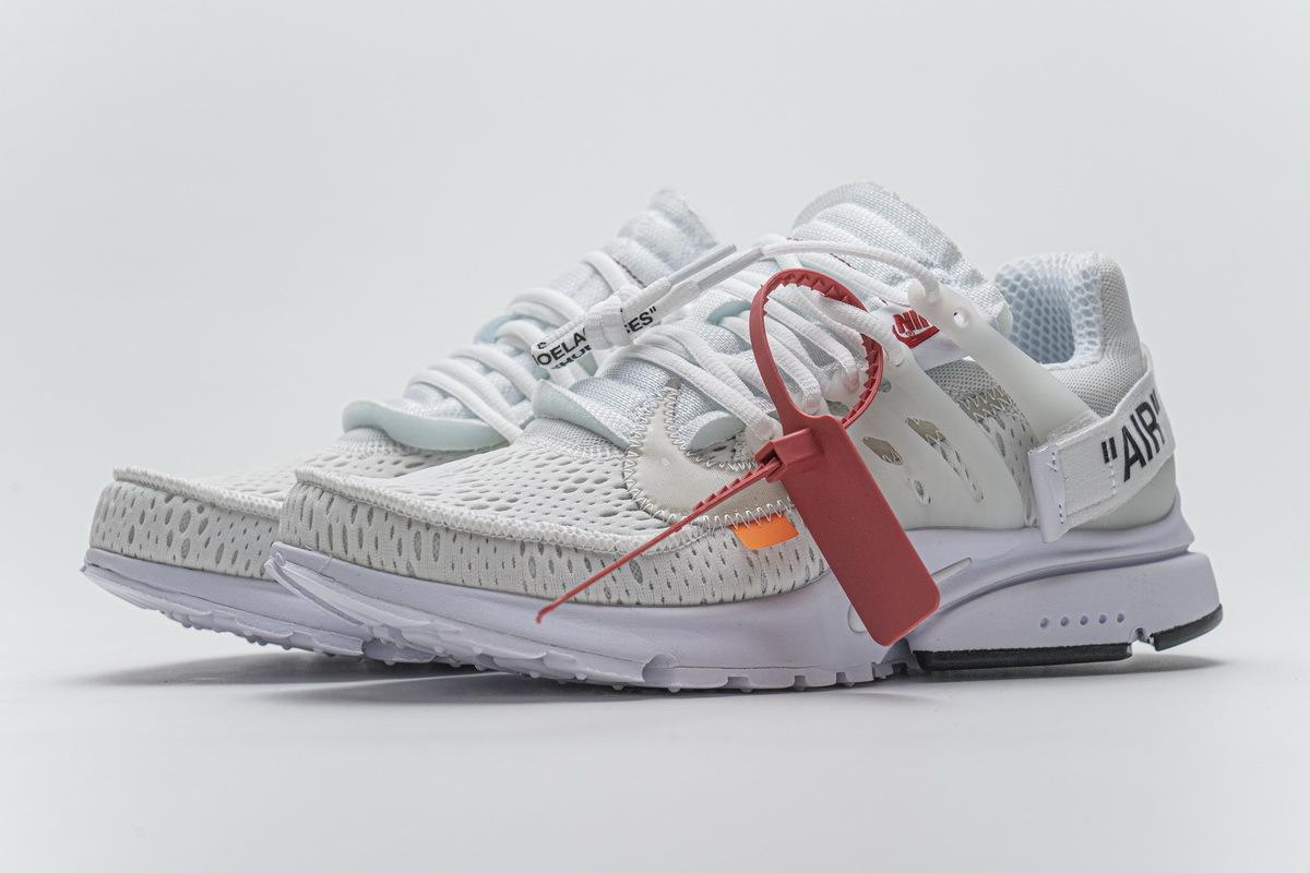 Nike Air Presto Off-White White (2018) AA3830-100