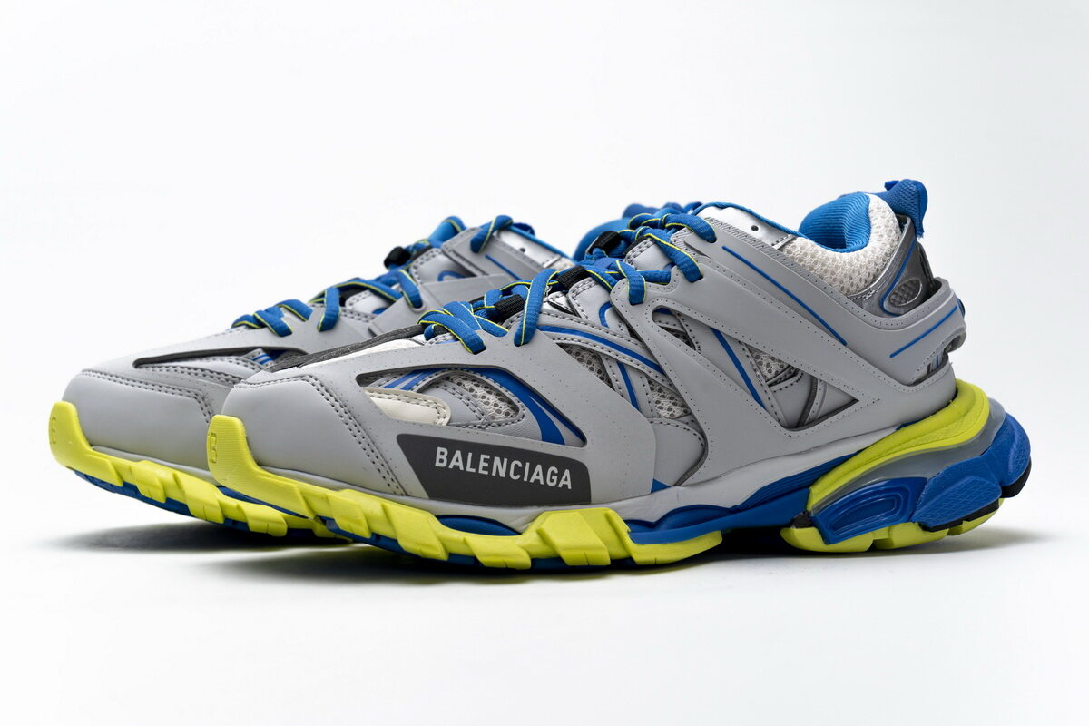 Balenciaga Tess S.Grey Blue Yellow (No lights) 542023 W1GB9 6509