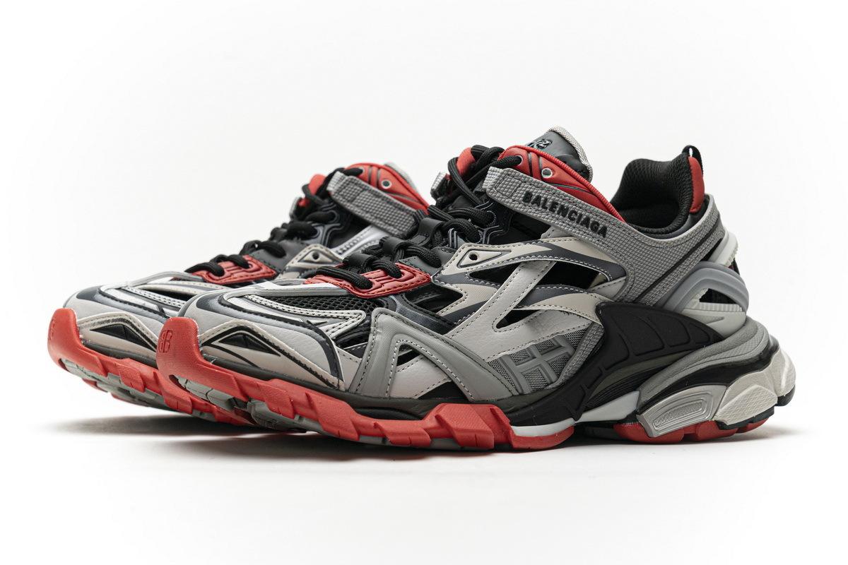 Balenciaga Track 2 Sneaker Grey Red 570391 W2GN3 1003
