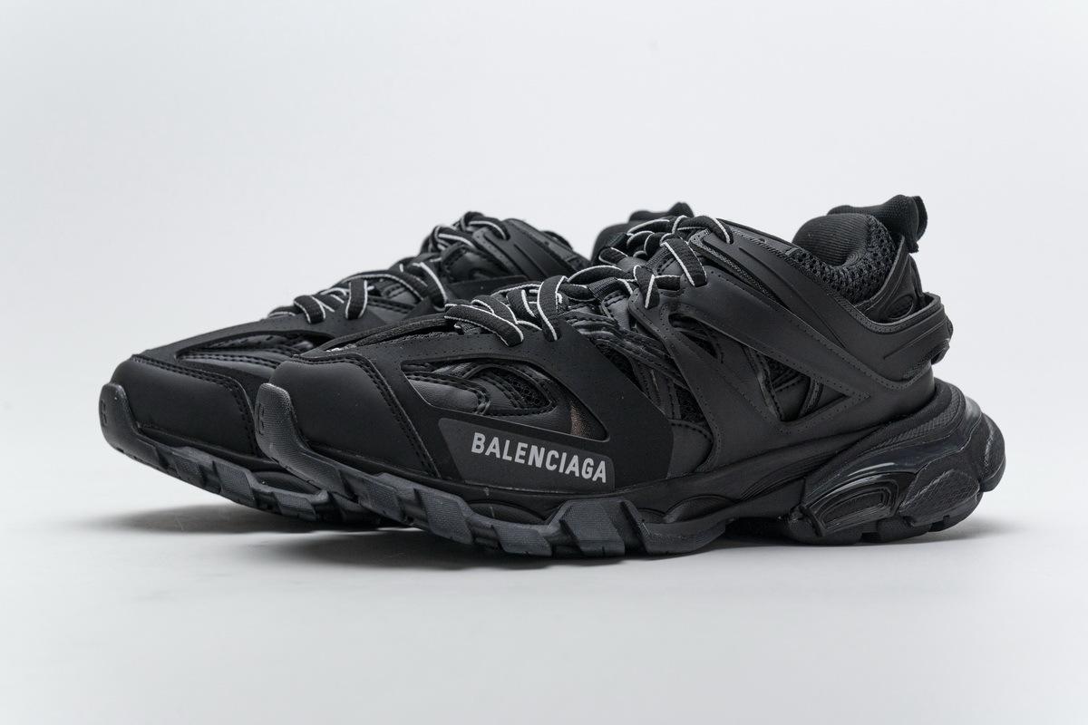 Balenciaga Track Black (No lights) 542436 W1GB7 1000