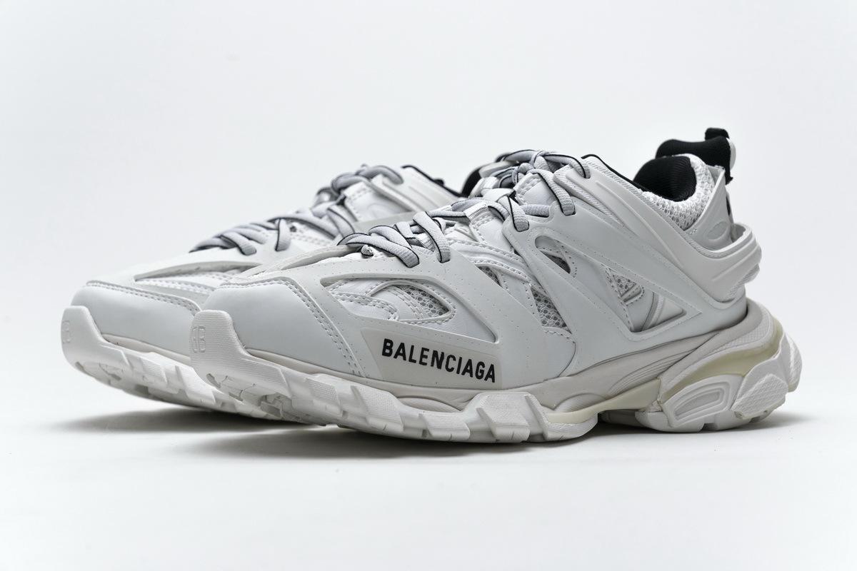 Balenciaga Track White Black (No lights) 542436 W3AC1 9010